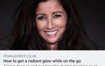 Karen J. Gerrard skin glow Female First